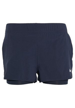 FLEX - Sports shorts - obsidian/white