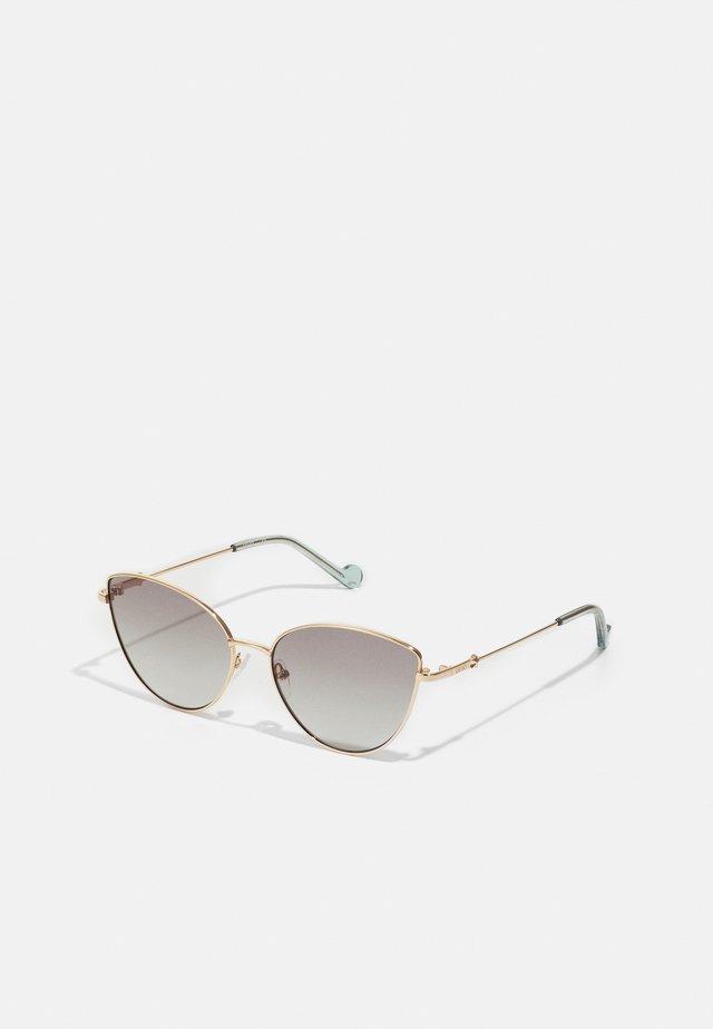 Sunglasses - golden amber
