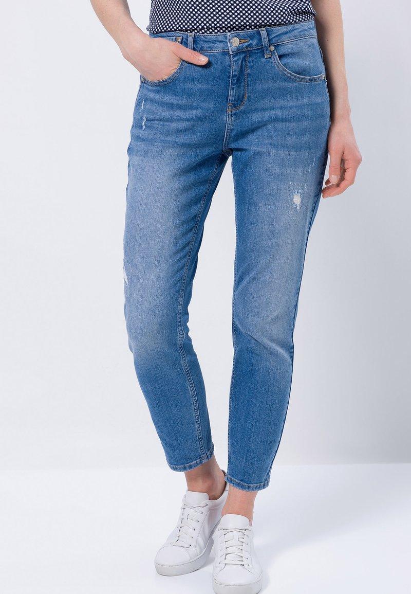 zero - Slim fit jeans - light blue destro