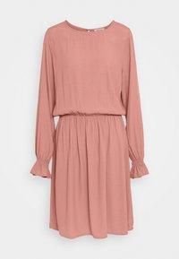 ESTHER DRESS - Day dress - raw umber