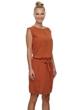 Day dress - cinnamon
