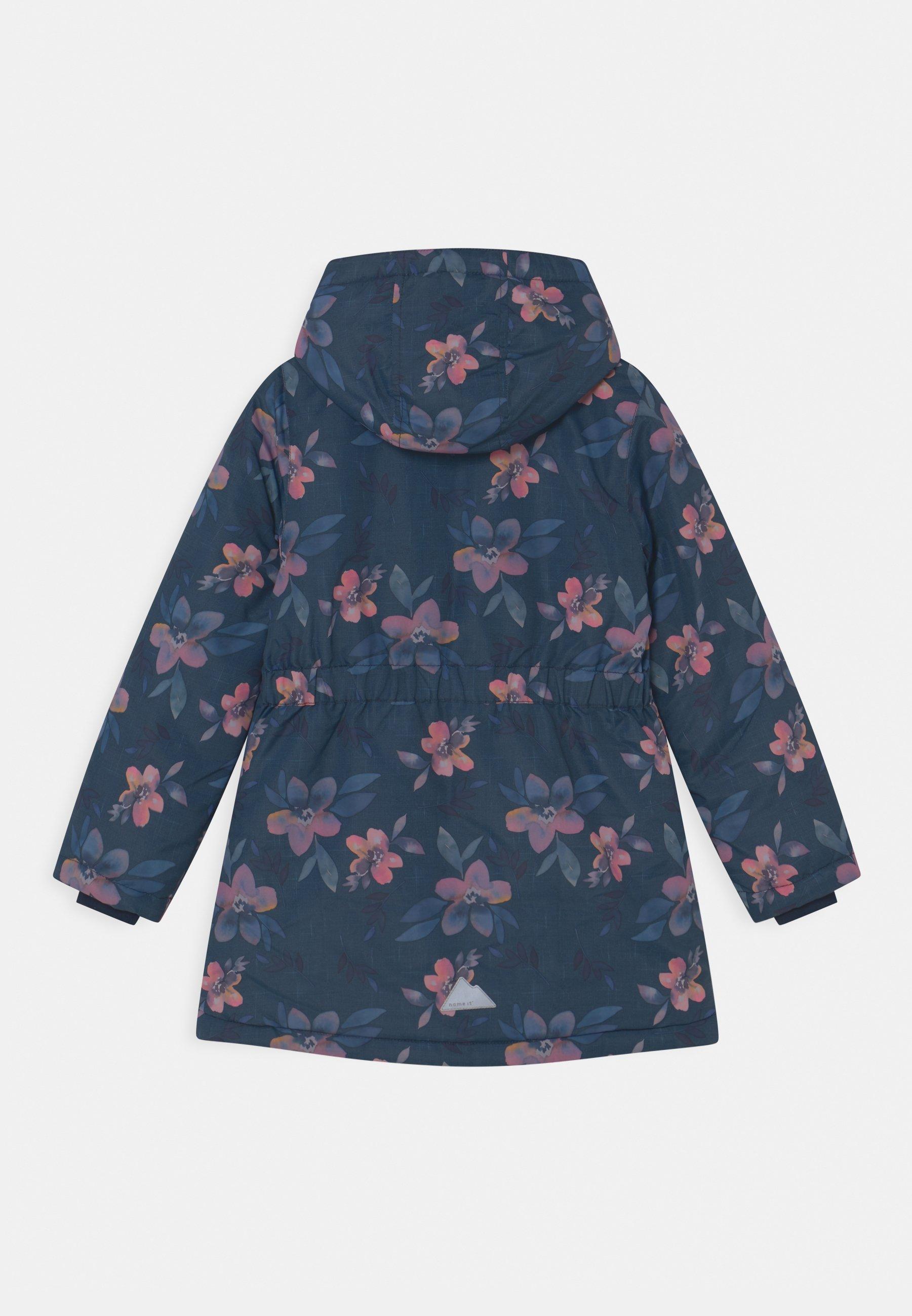 Kids NKFMAXI FLOWER - Winter coat