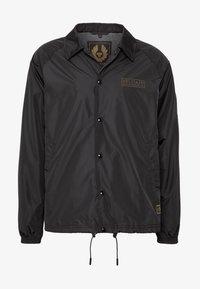 Belstaff - TEAMSTER JACKET PRINT - Summer jacket - black - 5