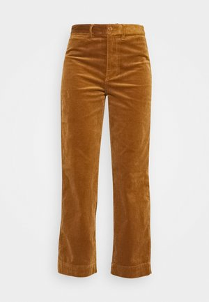 FULL LENGTH EMMETT IN BUBBLE - Trousers - dried cedar