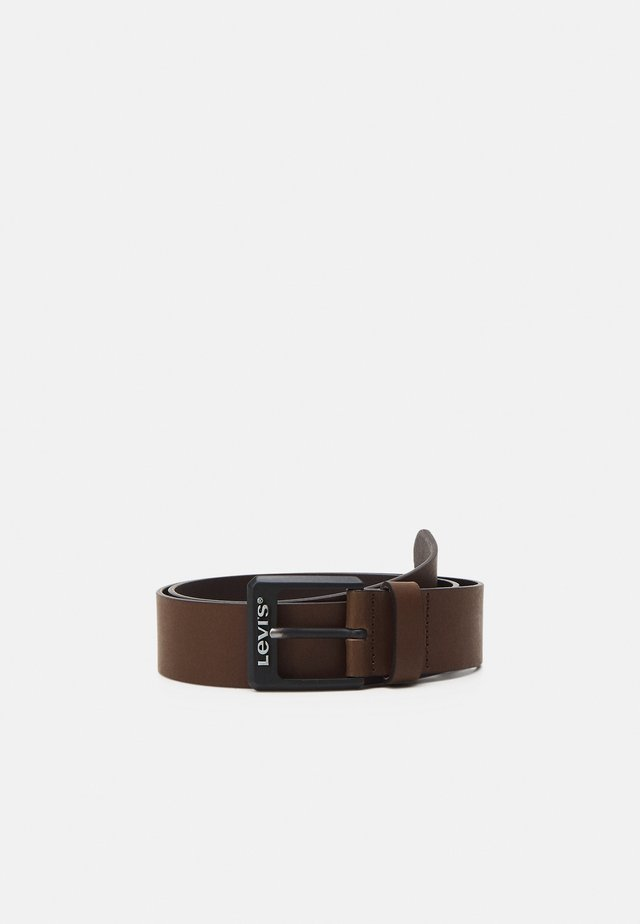 CONTRAST BELT - Belt - brown