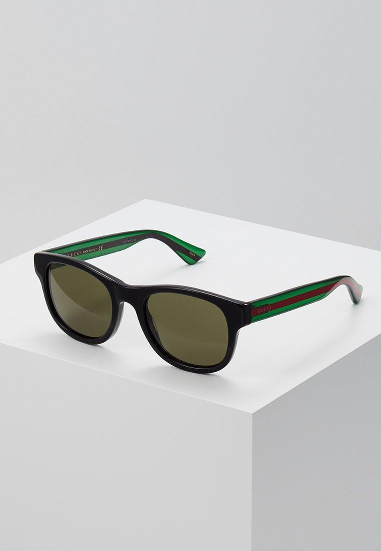 Gucci - Occhiali da sole - black/green