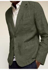 Mango - Blazer jacket - kaki - 3