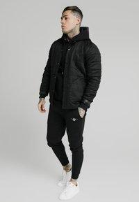 SIKSILK - FARMERS JACKET - Light jacket - black - 1
