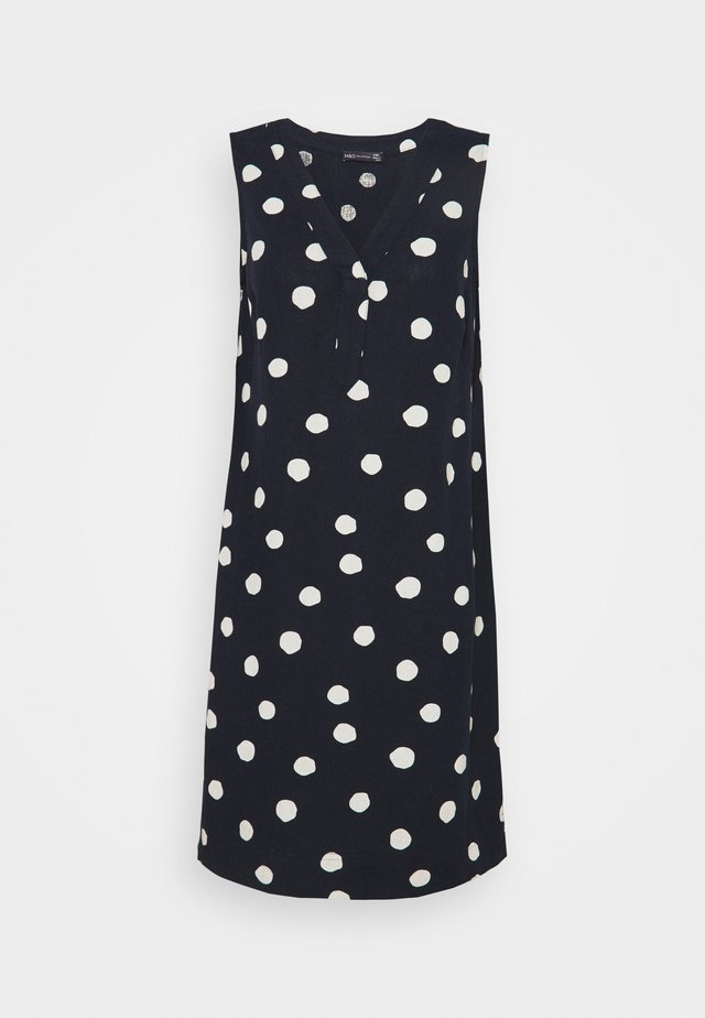 SPOT SHIFT - Korte jurk - dark blue