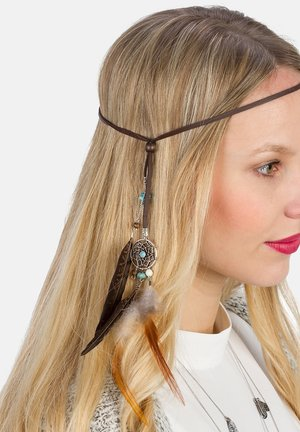 Hair styling accessory - braun