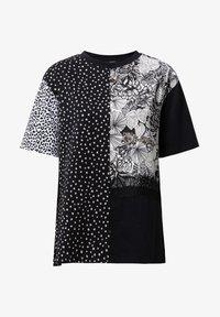 Desigual - Print T-shirt - black - 4