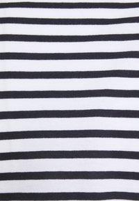 ONLY - ONLPERNILLE ROUCHING DRESS - Trikoomekko - white/night sky - 2