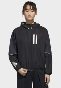 adidas Performance - ADIDAS W.N.D. JACKET - Training jacket - black - 0