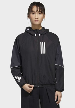 ADIDAS W.N.D. JACKET - Veste de survêtement - black