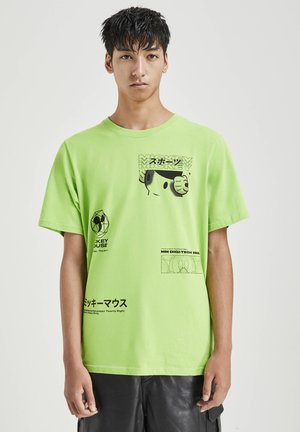 MICKY MAUS - T-shirt con stampa - green