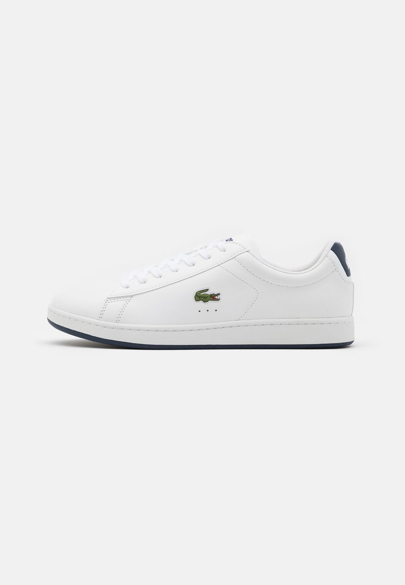 Lacoste - CARNABY EVO - Sneakers - white/navy