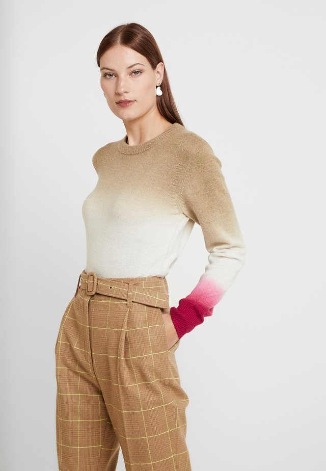 CAPPY - Pullover - beige