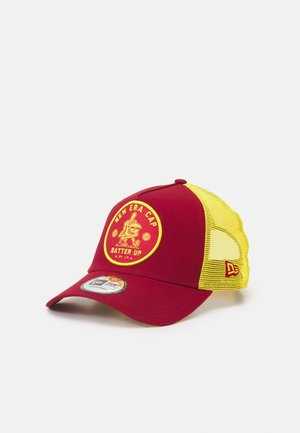 SPORTS PATCH TRUCKER UNISEX - Caps - red
