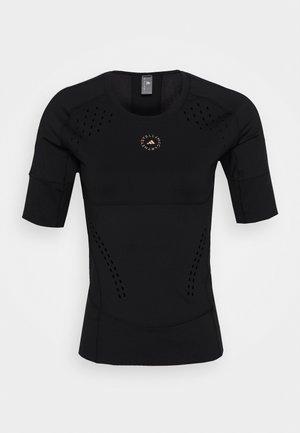 TRUEPUR TEE - Funkční triko - black
