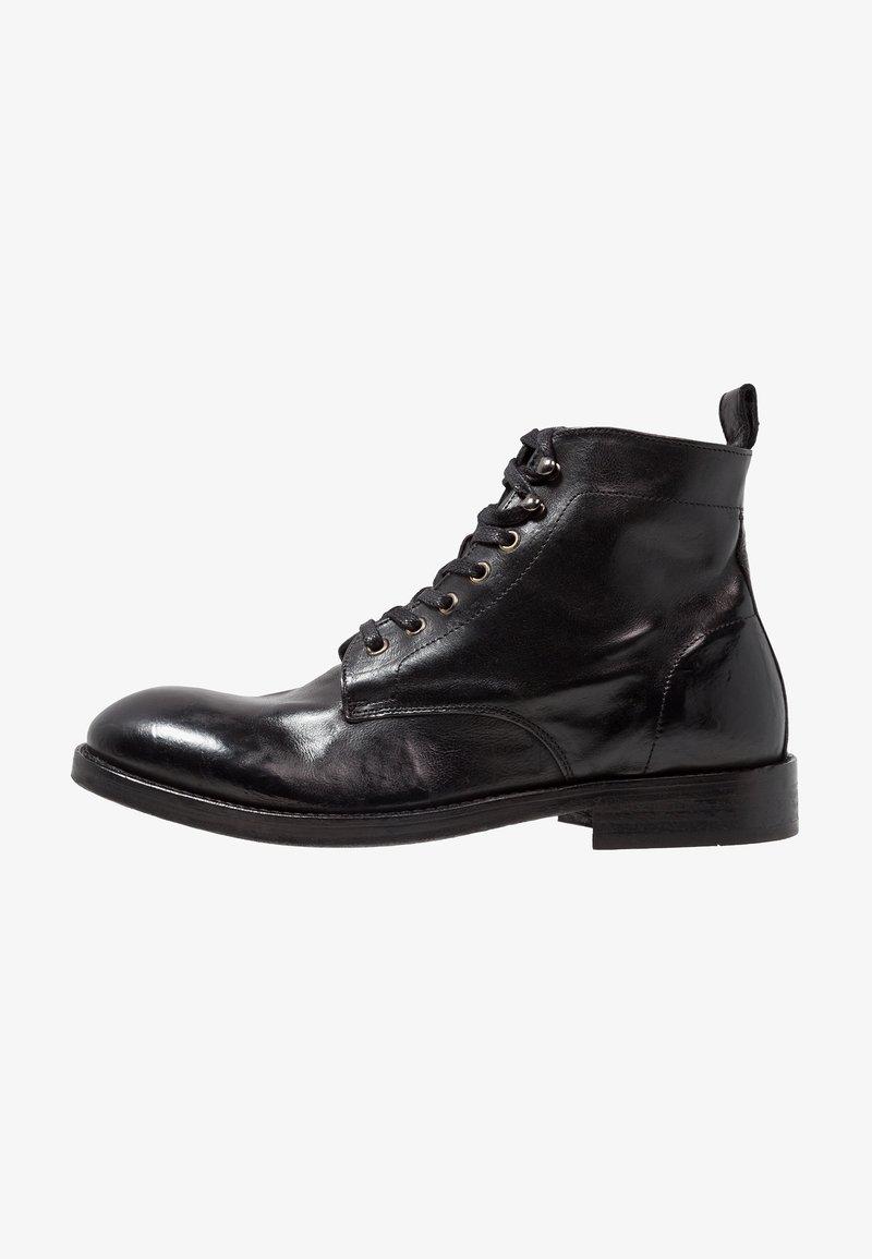 Hudson London - Lace-up ankle boots - black