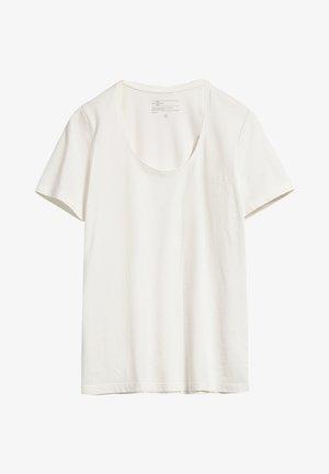 JAALINA RECYCLED - Basic T-shirt - white