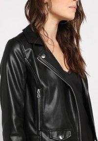 Cache Cache - Faux leather jacket - noir - 3