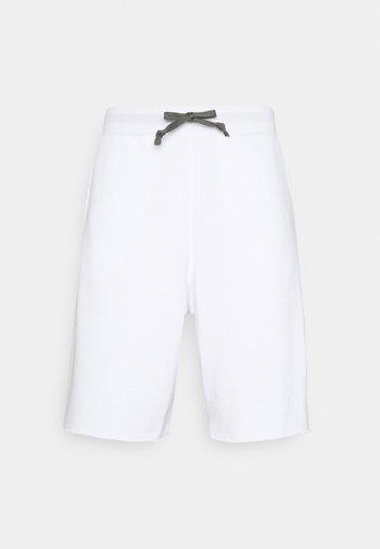 ALUMNI - Spodnie treningowe - white/iron grey/black