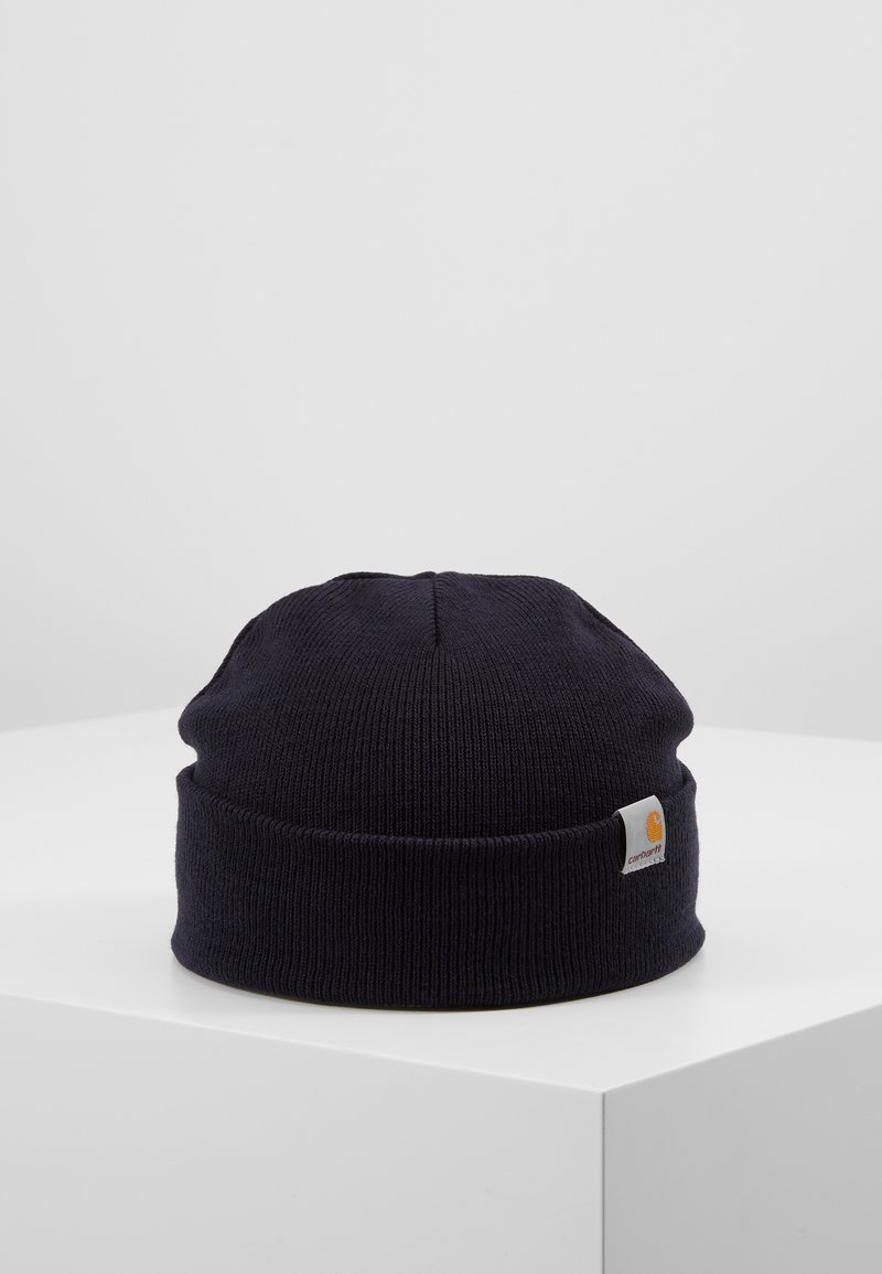 Carhartt WIP - STRATUS HAT LOW - Mössa - dark navy