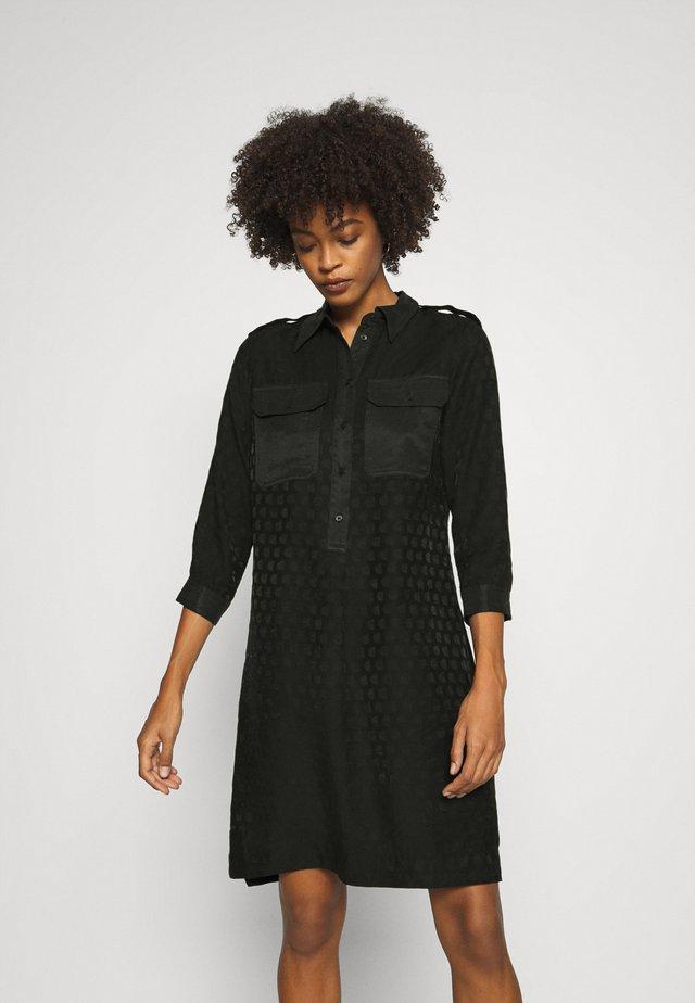 TRIESTRE - Robe chemise - black