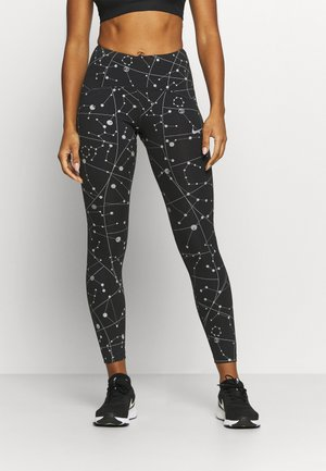 SPEED  - Legging - black/silver