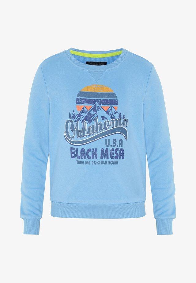 Sweatshirt -  bonnie blue
