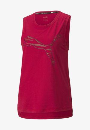 TRAIN FAVORITE CAT MUSCLE TANK - Top - persian red