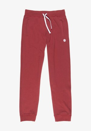 CORNELL - Tracksuit bottoms - port