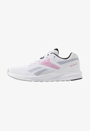 RUNNER 4.0 - Neutral running shoes - white/black/jasmin pink