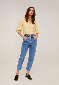 Mango - SLOUCHY - Straight leg jeans - blue - 1