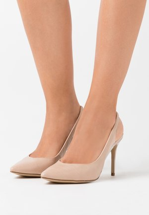 SIMPLY - Højhælede pumps - oatmeal