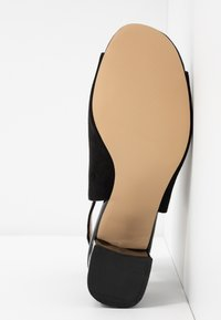 Miss Selfridge - SHIMMER BUCKLE - Sandaler - black - 6