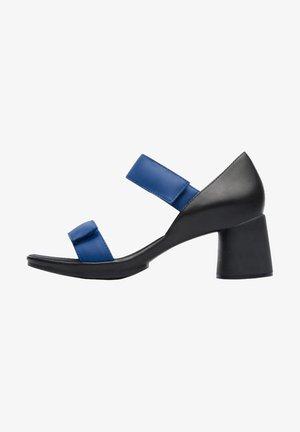 UPRIGHT - Sandaalit nilkkaremmillä - blue/black
