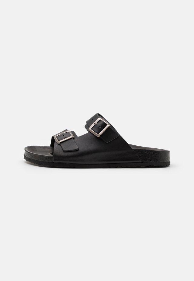 BIACEDAAR - Pantofle - black