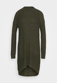 JDY - JDYMIGGY MEGAN HIGH NECK DRESS - Jumper dress - forest night/black ply - 4