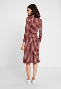Esprit Collection - WRAP DRESS - Jersey dress - red - 3