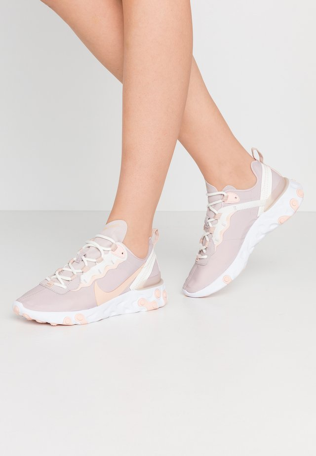 REACT 55 - Trainers - platinum violet/shimmer/washed coral/summit white