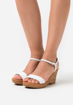 RITA  - High heeled sandals - white
