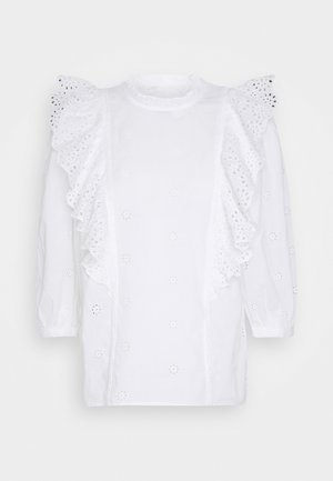 DOLLY CUTWORK - Bluser - white