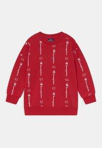 Champion - AMERICAN CLASSICS CREW NECK UNISEX - Sweatshirt - red - 0