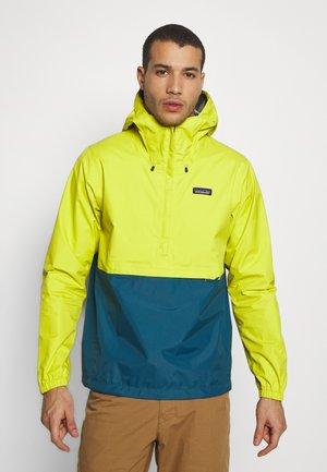 TORRENTSHELL - Hardshell jacket - chartreuse