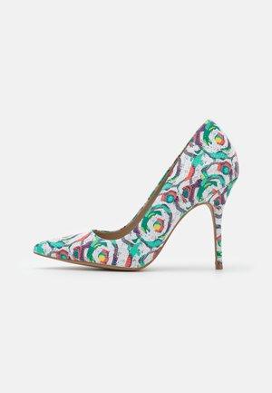 GALICIA - Classic heels - blanc/multicolor