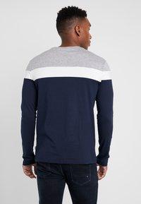 Pier One - Bluzka z długim rękawem - grey/dark blue - 2