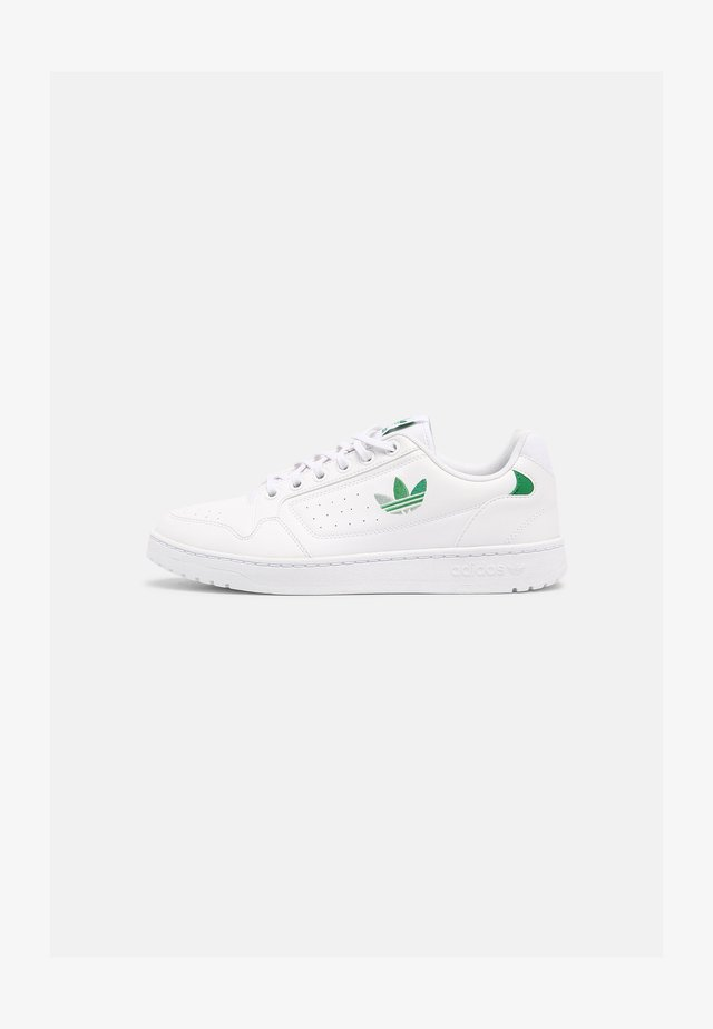 NY 90 UNISEX - Baskets basses - white/green/vivid green