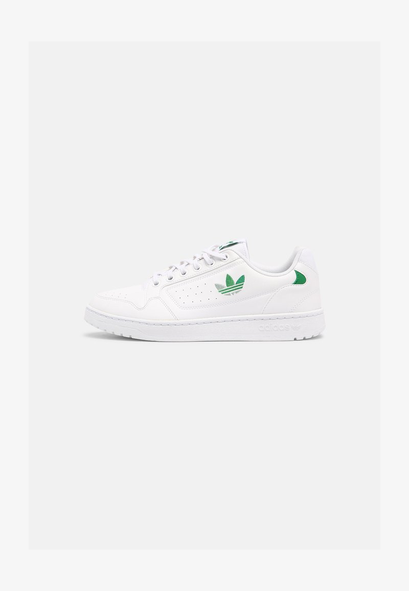 adidas Originals - NY 90 UNISEX - Matalavartiset tennarit - white/green/vivid green